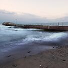 Rocky river Jetty by iamwiley