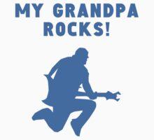 My Grandpa Rocks One Piece - Short Sleeve