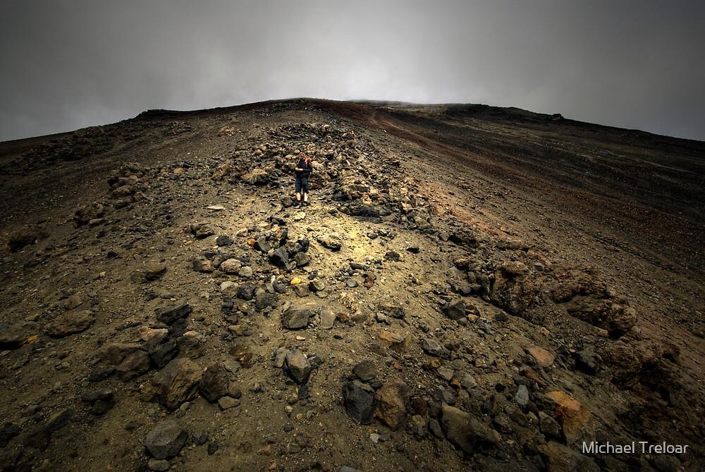 Climbing Mt Doom by Michael Treloar