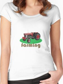 Farming Women's Fitted Scoop T-Shirt