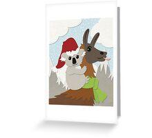 Koa-Llama Holidays Greeting Card