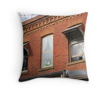 Over the Shop (Elmore, Vic.) Throw Pillow