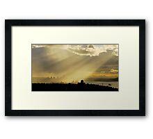 Sun City Framed Print