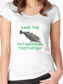 Patagonian Toothfish Appeal Women's Fitted Scoop T-Shirt