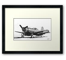 Chance Vought F4U-1A Corsair Framed Print