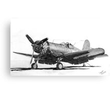Chance Vought F4U-1A Corsair Canvas Print
