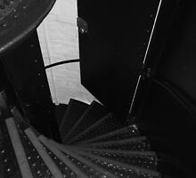 St. Simons Lighthouse Stairwell by Julie's Camera Creations <><