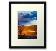 Wicked Cool Storm Light Framed Print