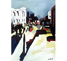 Abstract city shapes Photographic Print