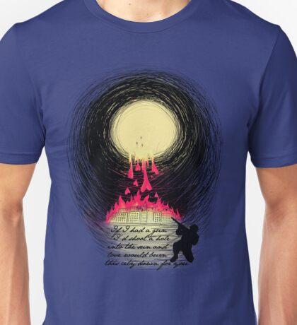 If I Had A Gun... Unisex T-Shirt