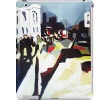 Abstract city shapes iPad Case/Skin