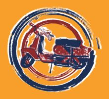 Painted UJ Lambretta by Auslandesign