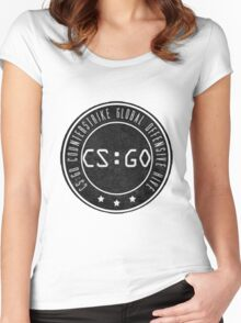 Counter strike Women's Fitted Scoop T-Shirt