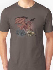 Stark vs. Lannister. vs Targaryen Unisex T-Shirt