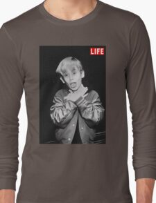 Macaulay Culkin Life Long Sleeve T-Shirt