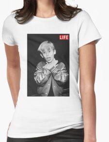 Macaulay Culkin Life Womens Fitted T-Shirt
