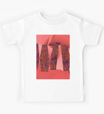 1308 Abstract Thought Kids Tee