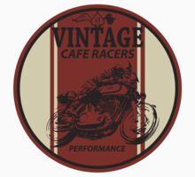 Vintage Cafe Racer Baby Tee