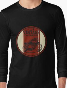 Vintage Cafe Racer Long Sleeve T-Shirt