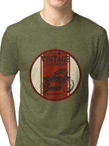 Vintage Cafe Racer Tri-blend T-Shirt