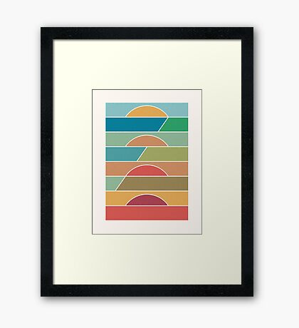 4 Degrees Framed Print