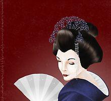 Kyoto Geisha by Lauren Hills