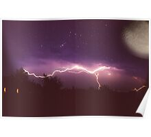 Thunderstorm and the Universe Poster