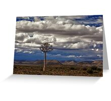 African Wilderness Greeting Card