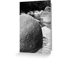 Rocks: Mosman Gorge Far North Queensland Greeting Card