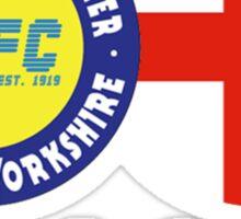 Club & Country - Leeds & England Sticker