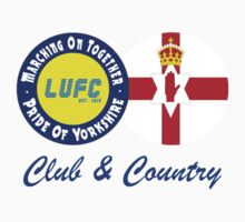 Club & Country - Leeds & Northern Ireland by MOTLeedsUnited