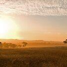 Smokey Sunset. by GailD