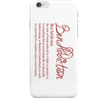 Benaddiction iPhone Case/Skin