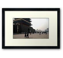 Tiananmen Square Framed Print