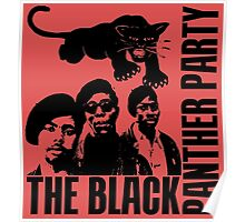 BLACK PANTHER PARTY Poster