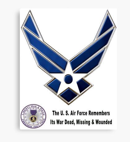 Air Force Remembers  Canvas Print