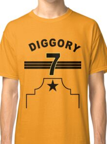 Cedric Diggory - Hufflepuff Quidditch Team Classic T-Shirt
