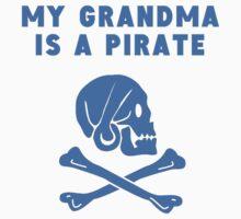 My Grandma Is A Pirate Kids Tee