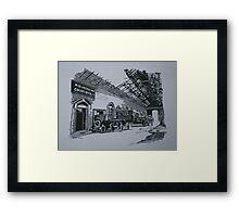 Midland Railway Goods Office Framed Print