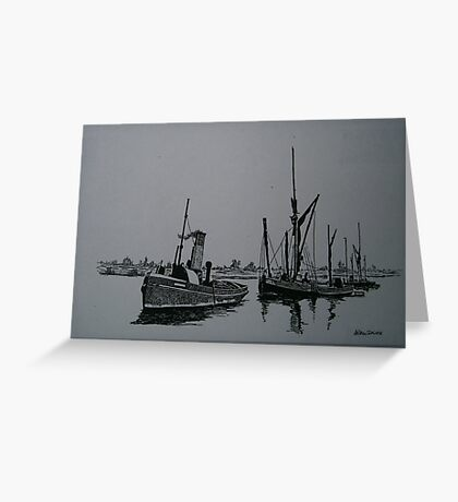 Sail and Steam Greeting Card