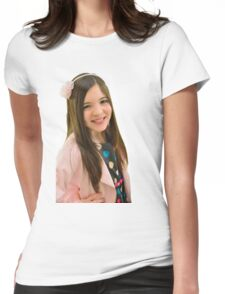 Ten year old girl Womens Fitted T-Shirt