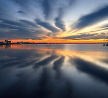 New Dawn - Geelong Corio Bay by Hans Kawitzki