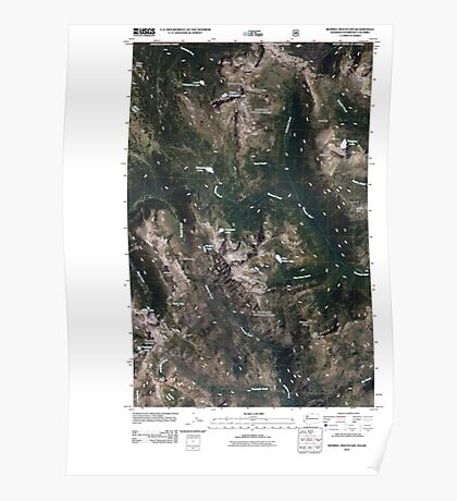 USGS Topo Map Washington State WA Remmel Mountain 20110509 TM Poster