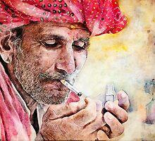 Mr.Smoker by Przemysław Bródka