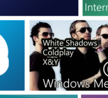 Windows 8: Metro UI Interface Sticker