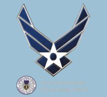 Air Force Remembers for Dark Colors Kids Clothes