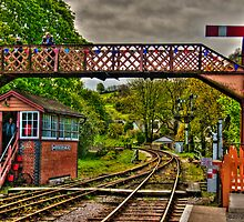 Buckfastleigh Signalbox by David J Knight