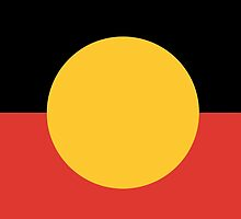 Australian Aboriginal Flag by IMPACTEES