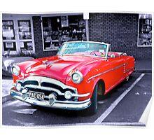 1954 Packard Convertible Poster