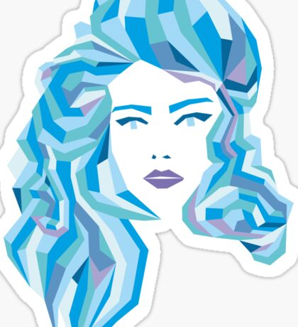 Blue Mood Sticker